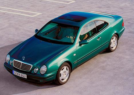 Mercedes-Benz CLK-class (C208)
