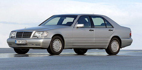 Mercedes S-class (W-140)