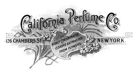 Логотип компании Califorrnia Perfume