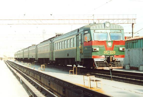 туристический поезд ЮУЖД