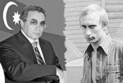 Ильгам Рагимов и Владимир Путин