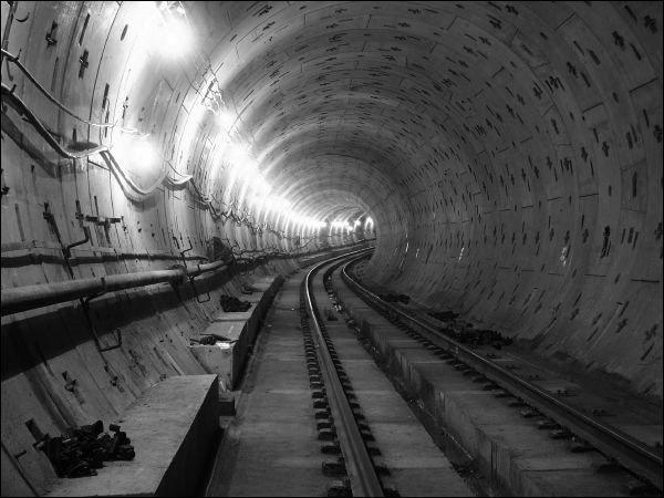 строительстве метро