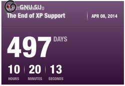 Обратный отсчет MS WinXP