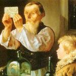 Картина А. Гранковского «В лавке»