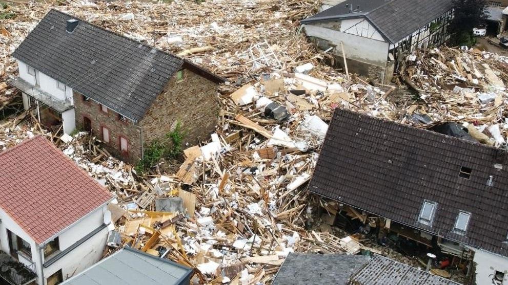 последствие наводнения в германии